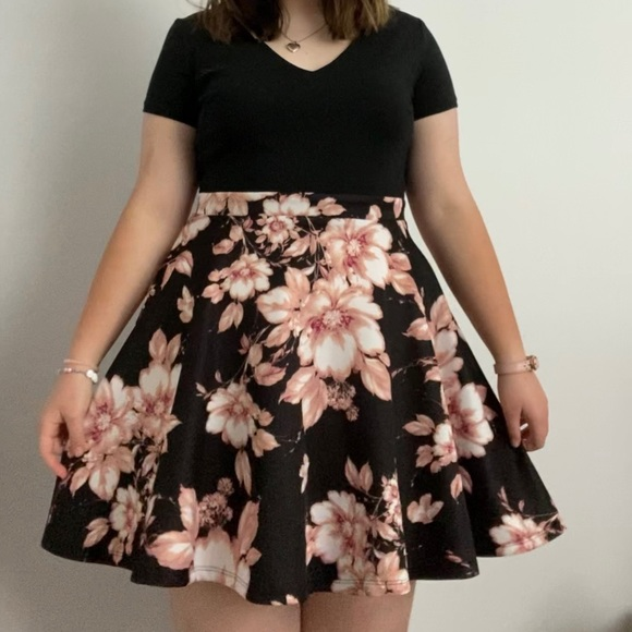 Floral Homecoming Dress | Size 13